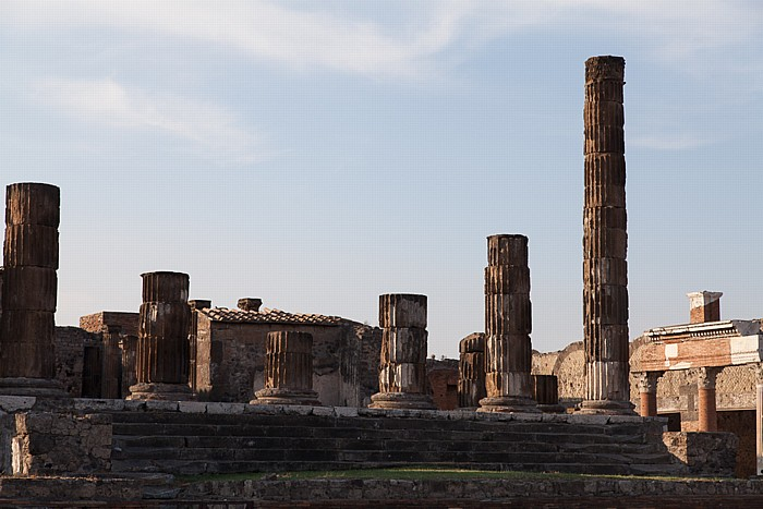Pompeji Forum: Tempel des Jupiter