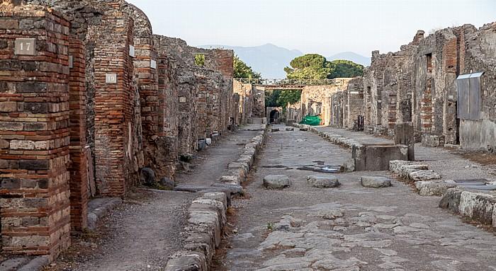Pompeji Via di Nola