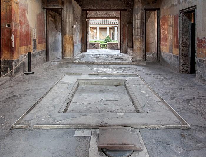 Pompeji Haus des Menander (Casa del Menandro)