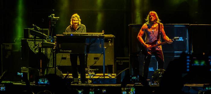 Ippodromo delle Capannelle (Rock in Roma): Deep Purple Rom Don Airey, Steve Morse