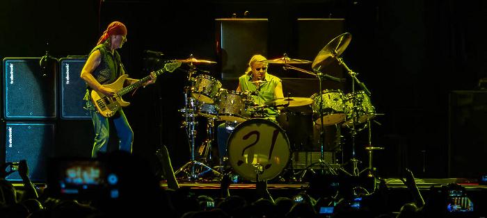 Ippodromo delle Capannelle (Rock in Roma): Deep Purple Rom Roger Glover, Ian Paice