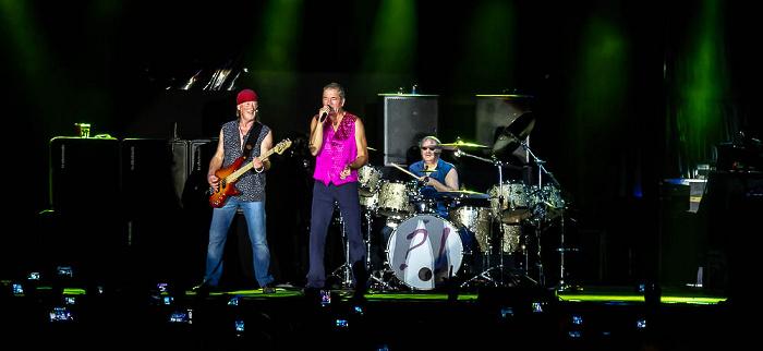 Ippodromo delle Capannelle (Rock in Roma): Deep Purple Rom Roger Glover, Ian Gillan, Ian Paice