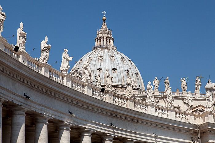 Vatikan Petersplatz, Petersdom