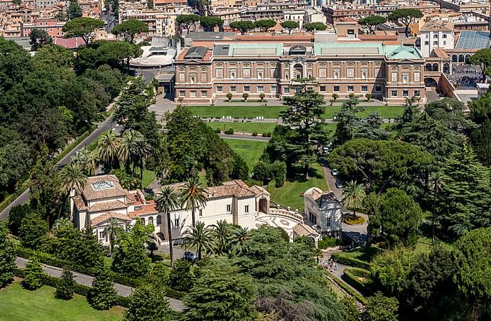 Vatikan Petersdom: Blick von der Kuppel