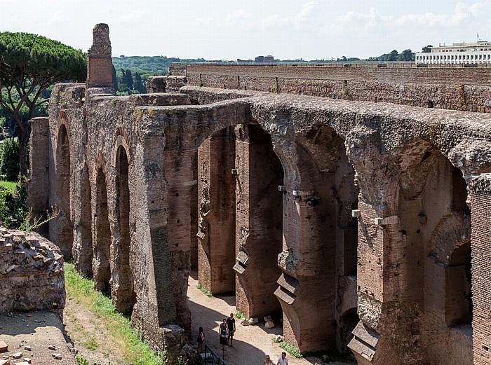 Rom Palatin: Palast des Septimius Severus FAO-Hauptgebäude