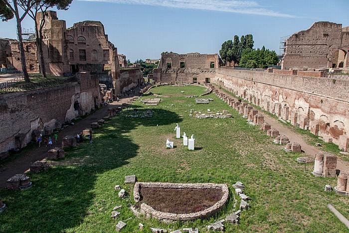 Rom Palatin: Stadion Exedra