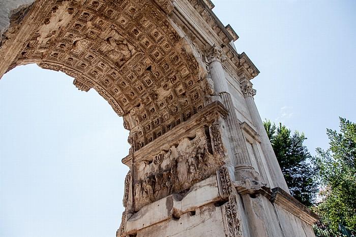 Forum Romanum: Titusbogen Rom