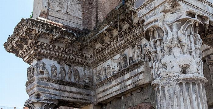 Forum Romanum: Septimius-Severus-Bogen