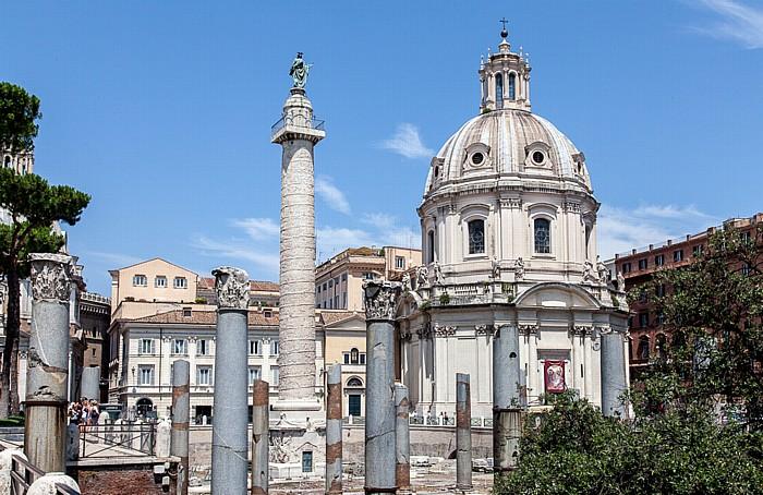 Trajansforum: Trajanssäule Rom