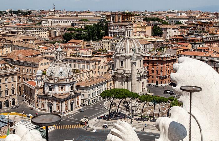 Blick vom Monumento Vittorio Emanuele II Rom