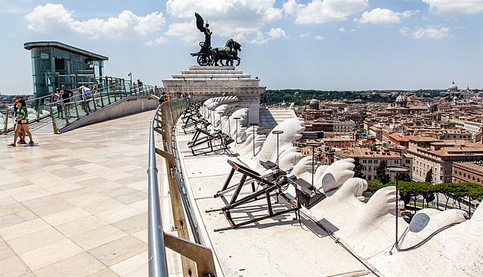 Rom Monumento Vittorio Emanuele II Altstadt