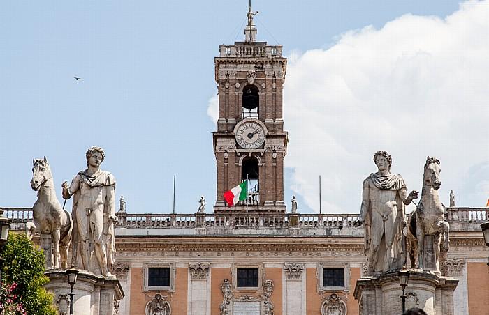 Kapitol: Cordonata und Senatorenpalast Rom