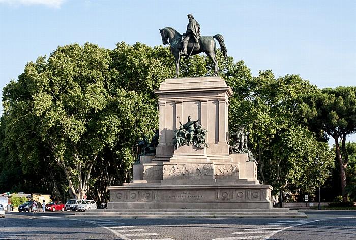 Rom Trastevere: Gianicolo - Giuseppe-Garibaldi-Reiterdenkmal