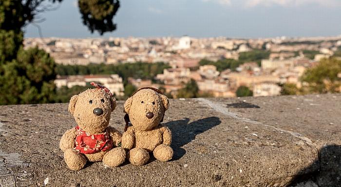 Rom Trastevere: Gianicolo - Teddine und Teddy