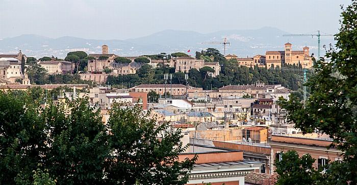 Rom Trastevere: Blick vom Gianicolo auf das Centro Storico