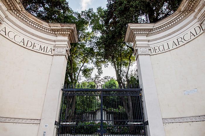 Rom Trastevere: Gianicolo - Accademia degli Arcadi