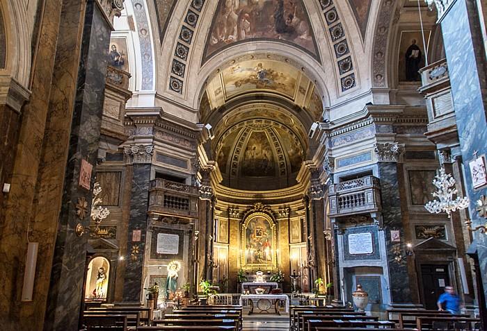 Rom Chiesa dei Santi Silvestro e Dorotea Trastevere