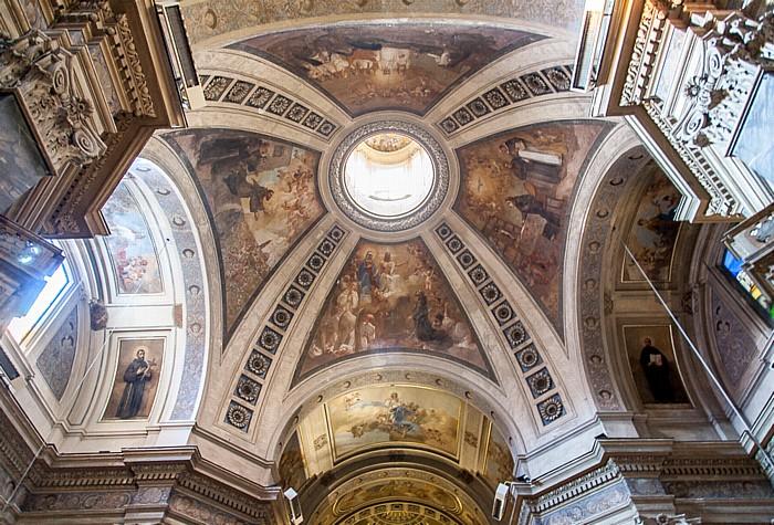 Rom Chiesa dei Santi Silvestro e Dorotea