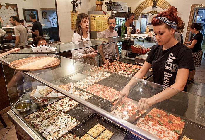 Rom Trastevere: Piazza di San Giovanni della Malva - Pizzeria