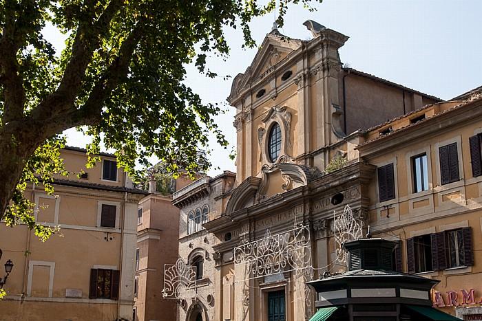 Rom Trastevere: Chiesa di Sant' Agata in Trastevere