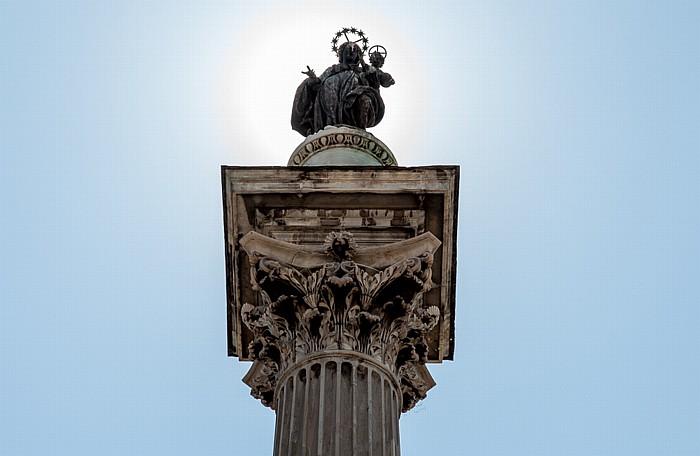 Rom Piazza di Santa Maria Maggiore: Mariensäule