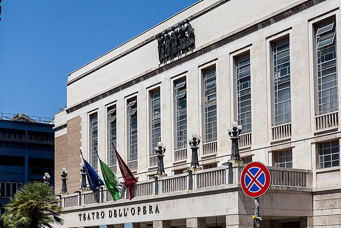 Castro Pretorio: Teatro dell' Opera di Roma Rom
