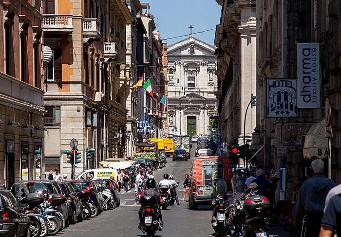 Castro Pretorio: Via Torino Rom