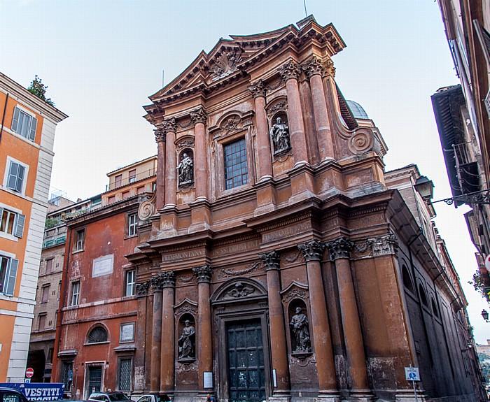 Rom Altstadt: Regola - Santissima Trinità dei Pellegrini