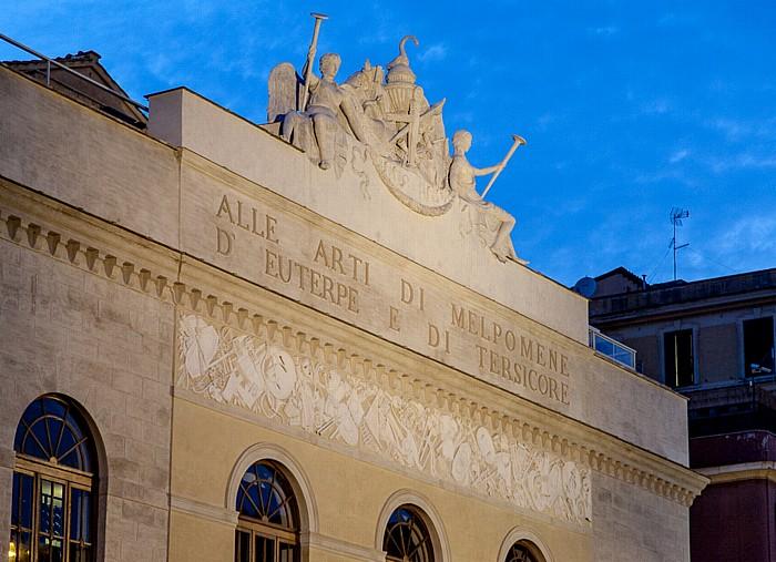 Rom Altstadt: Pigna - Teatro Argentina