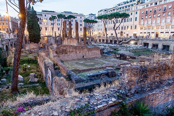 Rom Altstadt: Pigna - Largo di Torre Argentina: Area Sacra (Heiliger Bezirk)