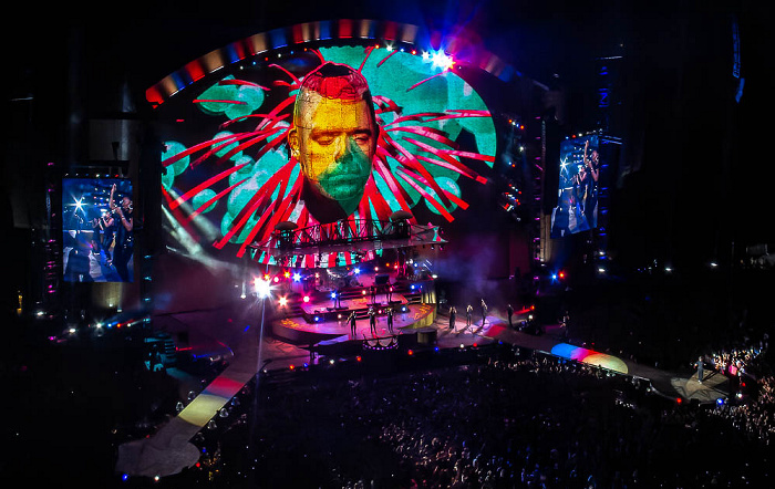 Stadio San Siro (Giuseppe-Meazza-Stadion): Robbie Williams Mailand Candy