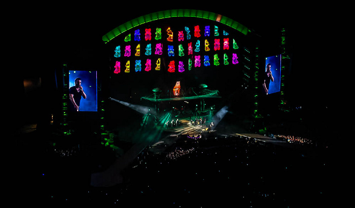Stadio San Siro (Giuseppe-Meazza-Stadion): Robbie Williams Mailand Hot Fudge (Rudebox snippet)