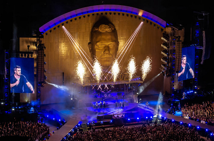 Stadio San Siro (Giuseppe-Meazza-Stadion): Robbie Williams Mailand Rock DJ