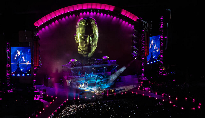 Stadio San Siro (Giuseppe-Meazza-Stadion): Robbie Williams Mailand She's The One