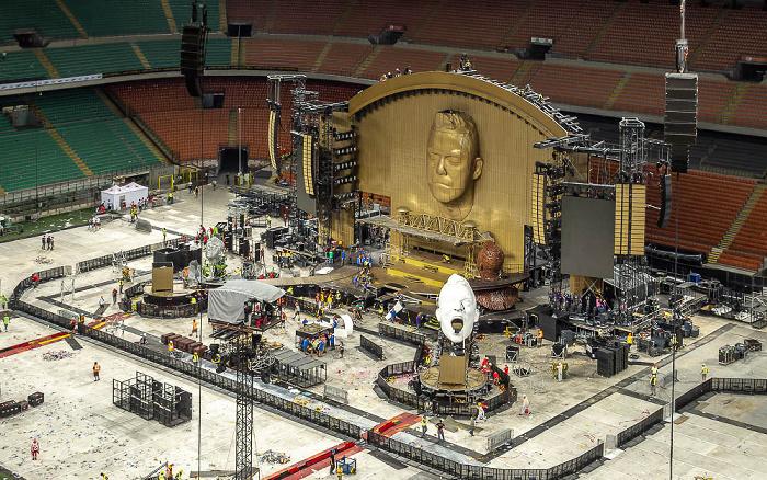 Mailand Giuseppe-Meazza-Stadion (San Siro): Nach dem Robbie Williams-Konzert
