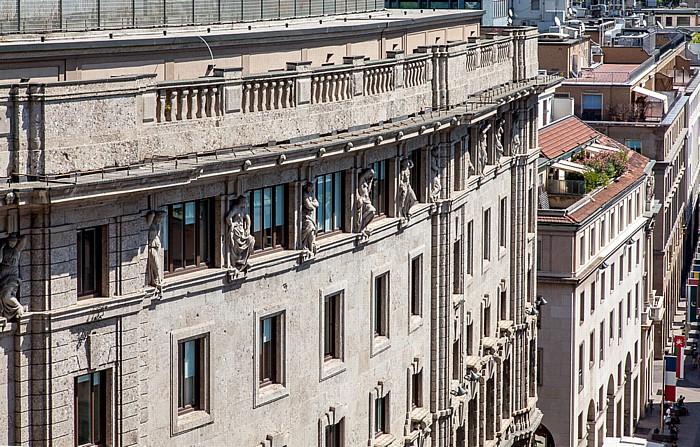 Mailand Blick vom Mailänder Dom (Duomo di Santa Maria Nascente)