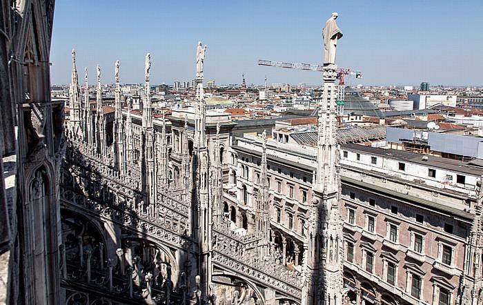 Mailand Mailänder Dom (Duomo di Santa Maria Nascente) Galleria Vittorio Emanuele II Palazzo dei Portici Settentrionali