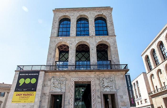 Mailand Piazza del Duomo: Museo del Novecento