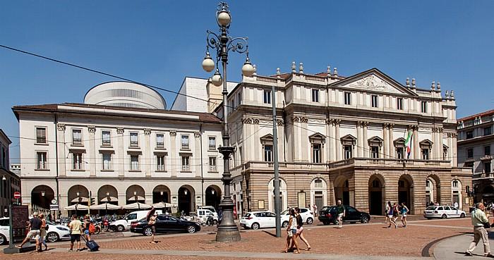 Mailand Piazza della Scala: Teatro alla Scala