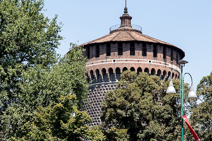 Mailand Castello Sforzesco