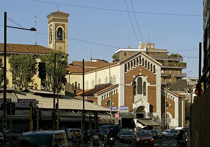 Mailand Piazza Wagner Riccardo: Parrocchia Di San Pietro In Sala