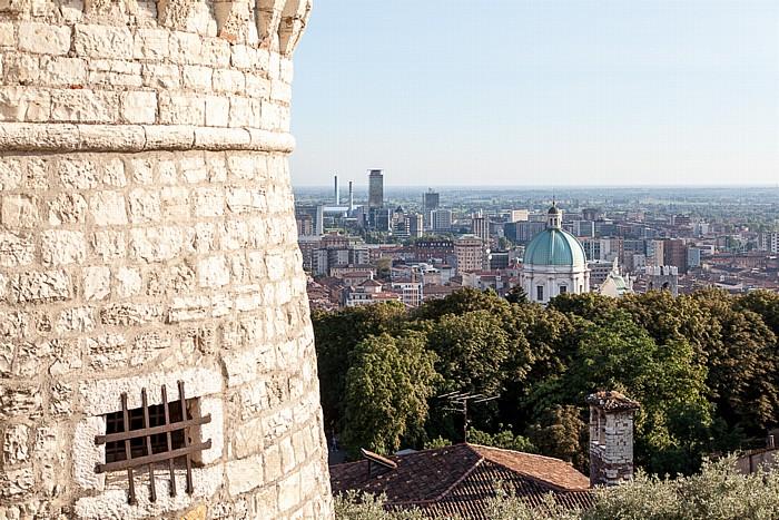 Castello di Brescia: Torre dei Prigionieri Centro Storico Duomo nuovo