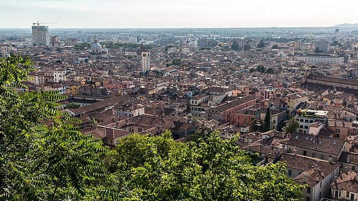 Blick vom Castello di Brescia: Centro Storico