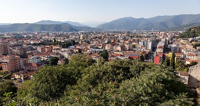 Blick vom Castello di Brescia in Richtung Norden
