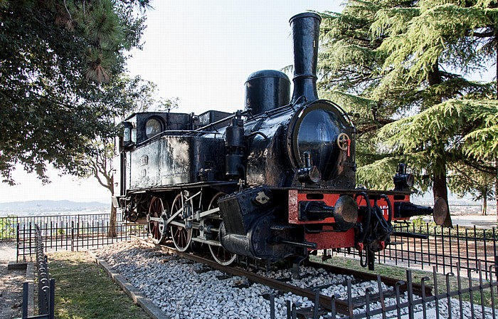 Castello di Brescia: S.N.F.T. Dampflokomotive Nr. 1