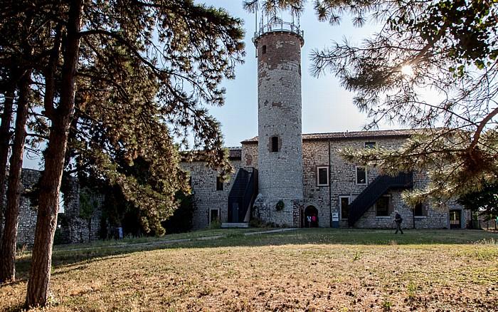 Castello di Brescia: Torre Mirabella