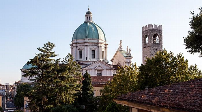 Brescia Centro Storico (Quartiere Antica): Duomo nuovo (Cattedrale di Santa Maria Assunta) Torre del Pegol