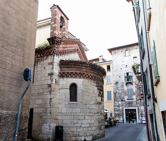Brescia Centro Storico (Quartiere Antica): Chiesa di San Marco Evangelista Torre d' Ercole