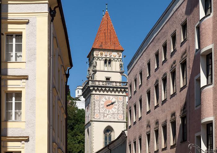 Passau Altstadt: Schrottgasse, Altes Rathaus