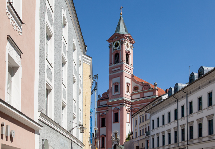 Passau Altstadt: Stadtpfarrkirche St. Paul